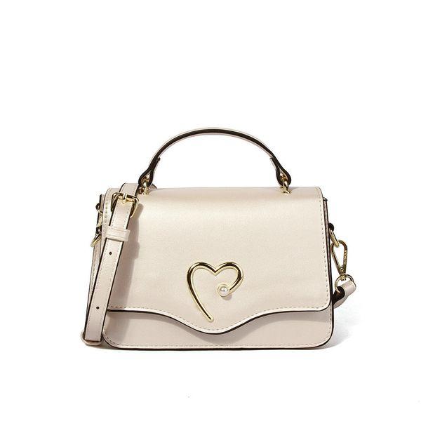 Fashion Women Bag Heart Decoration Crossbody Handbag Shoulder Bags With Adjustable Strap Great Gift