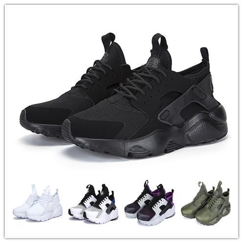 Huarache 4.0 Freizeitschuhe Luxus Klassische Mode Herren Designer Schuhe Schwarz Weiß Herren Trainer Frauen Sneakers Outdoor Wandern Joggen billig