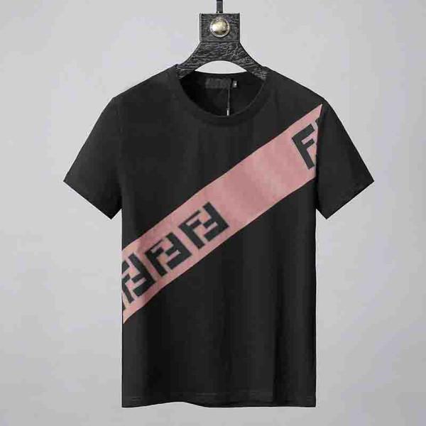 8bf49e174 Fashion mens designer tshirts luxury brand F Letter printing couple short t-shirt  Summer Street