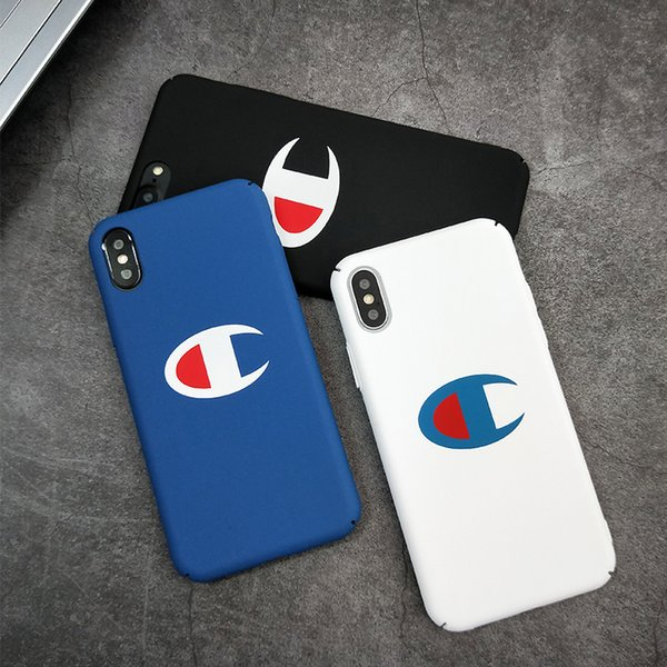 For iphone x x xr max phone ca e fa hion champion hard pla tic cover ca e japan trend for iphone 6 6 plu 7 7plu 8 8plu 5 5 e cover