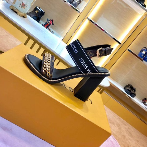 Las mujeres más nuevas calientes de cuero tacones altos banquete zapatos de boda vestido de fiesta zapatos de tacón alto sandalias zapatillas planas zapatos casuales zapatillas de deporte san