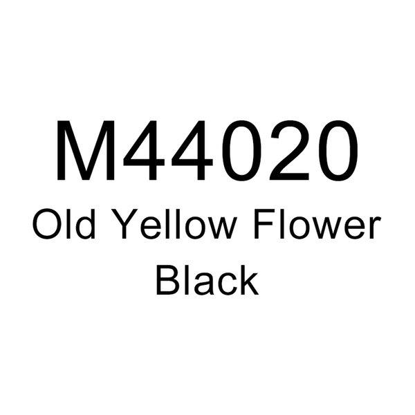 Старый Желтый Цветок-Черный