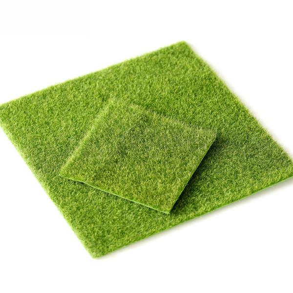 Micro Landscape Decoration DIY Mini Fairy Garden Simulation Plants Artificial Fake Moss Decorative Lawn Turf Green Grass