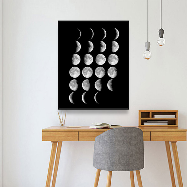 decorative stools for living room.htm 2019 laeacco moon landscape nordic canvas painting calligraphy  2019 laeacco moon landscape nordic