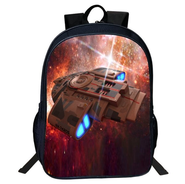 Cartoon fighter Printing Children Girls School Bags For Teenage Casual Daily laptop Backpacks V11