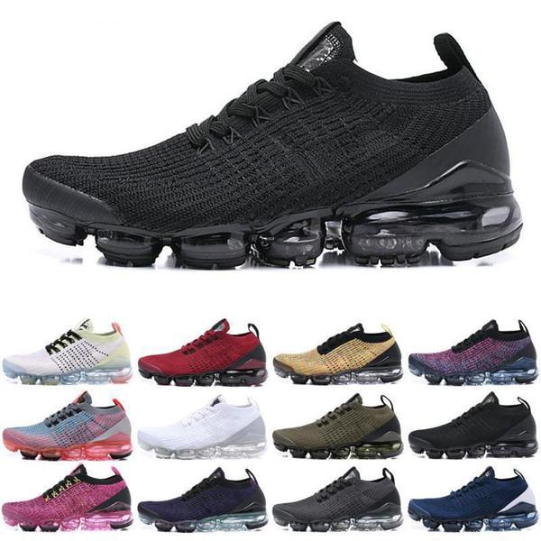 2019 새로운 패션 플라이 3 0.0 남성 여성 신발 배 블랙 화이트 레드 블루 그레이 니트 3 0.0 2020 디자인 스니커즈 스포츠 조깅 신발을 실행