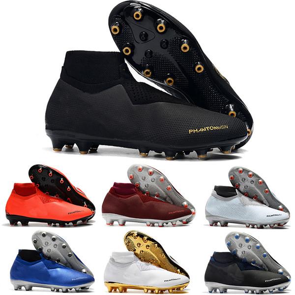 2019 erkek futbol ayakkabı çocuklar Phantom VSN Gölge Elite DF AG-PRO futbol cleats Oyunu Over futbol çizmeler scarpe da calcio