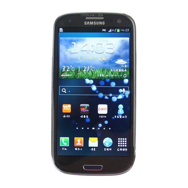 Refurbished Original Samsung Galaxy S3 i9300 i9305 Unlocked Smart Phone 4.8 inch HD Quad Core 1.4GHz GPS Wifi 3G WCDMA 4G LTE Free DHL 1pcs