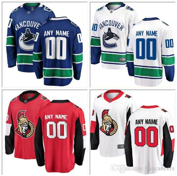 best loved 776d2 22854 2019 Custom Canada NHL Hockey Teams Jersey Montreal Canadiens Toronto Maple  Leafs Edmonton Oilers Calgary Flames Ice Hockey Jerseys Men Youth 4xl From  ...