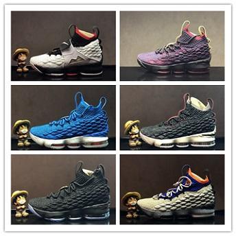Nike Air Lebron 15 LBJ15 2018 Neue Ankunft XV 15 GLEICHHEIT Blau Schwarz Basketball Schuhe Männer Top qualität Was Die Hohe 15 s EP Sporttraining Turnschuhe Größe 40-46