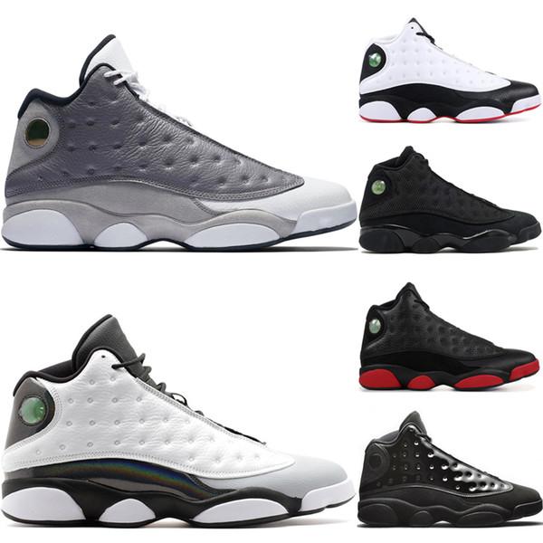 Fashion 13s Barons mens scarpe da basket 13 uomini Atmosphere grigio Cap e abito Olive Hyper Royal Grigio Toe Wheat Court viola sportivo sneakers