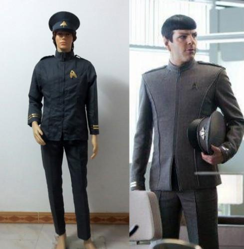 Star Trek Spock with Hat Uniform Suit Outfit Halloween Cosplay Costume