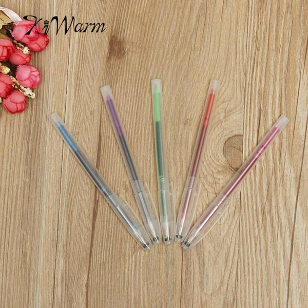 KiWarm 5pcs Water Erasable Fabric Marker Pen CrossStitch Sewing Stitch Markers Ink Patchwork Marking Pen DIY Needlework Tools