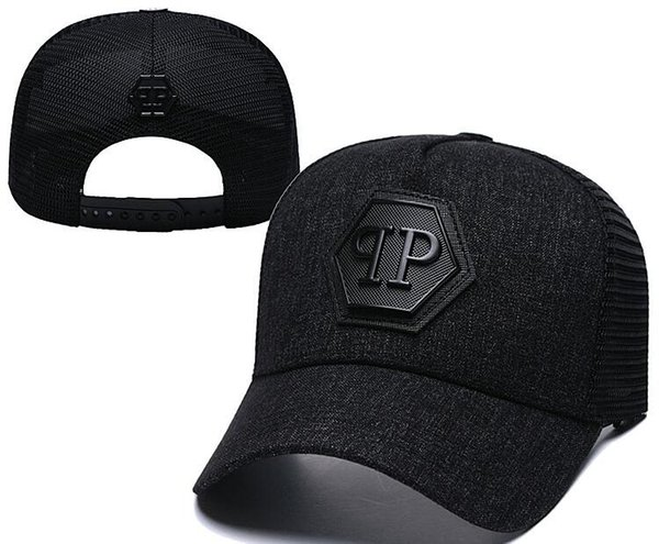 Neueste Designer PP Schädel Caps Casquettes De Baseballmütze Gorras Modemarke Baseball Hüte Rennen Headwear Giants Knochen Sonnenhut Luxus Sonnenhut
