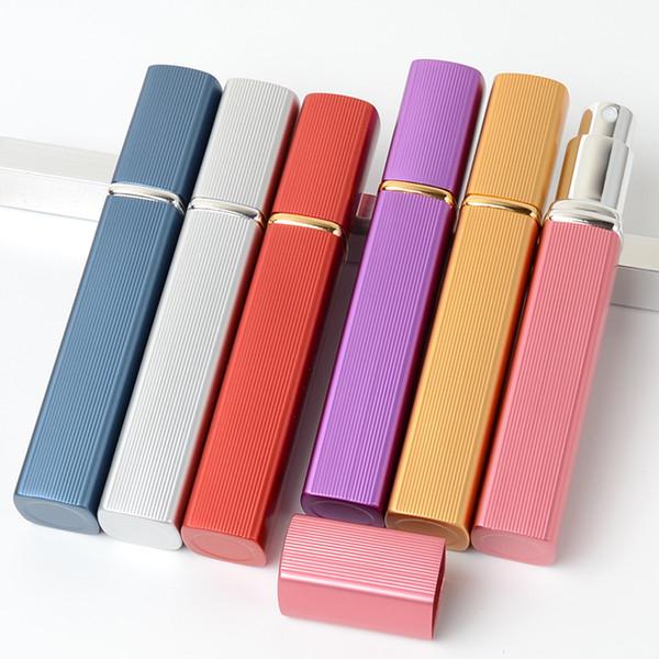 12 ml vide rechargeable bouteille de parfum voyage vaporisateur bouteille portable mini en verre et en aluminium parfum atomiseur Parfum conteneur