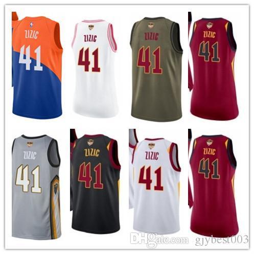 timeless design e26de a19d8 2019 Custom Best 2018 Basketball Wear Men'S Cleveland Cavalier#41 Ante  Zizic Yellow Jersey City Edition Basketball Jerseys From Gjybest005, $18.1    ...