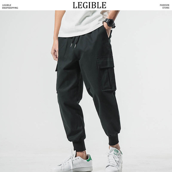 LISIBLES hommes Cargo camouflage Jogger Pantalons homme Pantalons simple pantalons Homme coréenne Fashion Skinny Camo