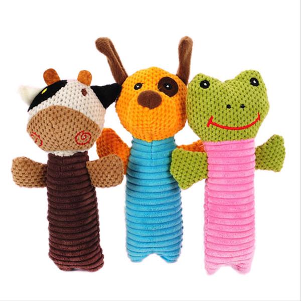 Giocattolo da masticare giocattolo per cuccioli di cane per la ricreazione e la pulizia dei denti Prodotto per animali da compagnia suonato dal giocattolo adorabile per cani di taglia media o piccola