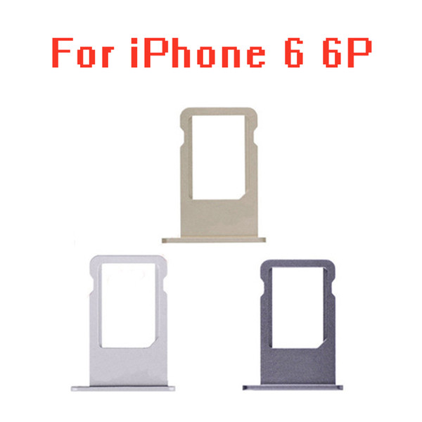 Micro Nano SIM Card Holder Tray Slot Replacement Part for iphone 6 6plus 6 plus SIM Card Holder Adapter Socket
