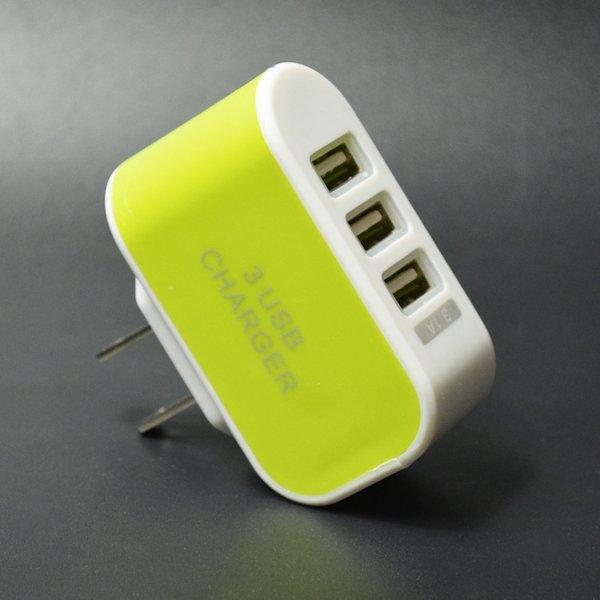 US Plug_Green