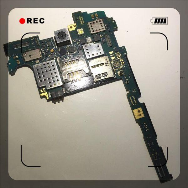 Carte mère PCB originale déverrouillée pour Samsung Galaxy NOTE N7000 / i9220 Puces de carte mères Logic Board Livraison gratuite