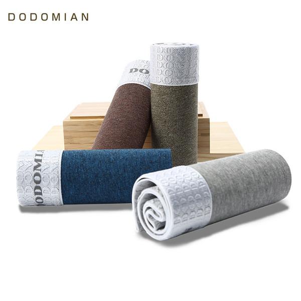 Luxury Male Panties Wide Waistband Boxer Nature Cotton Men Underwear Plus Size Cueca Boxer Shorts Homme 4pcs/lot Y19042302