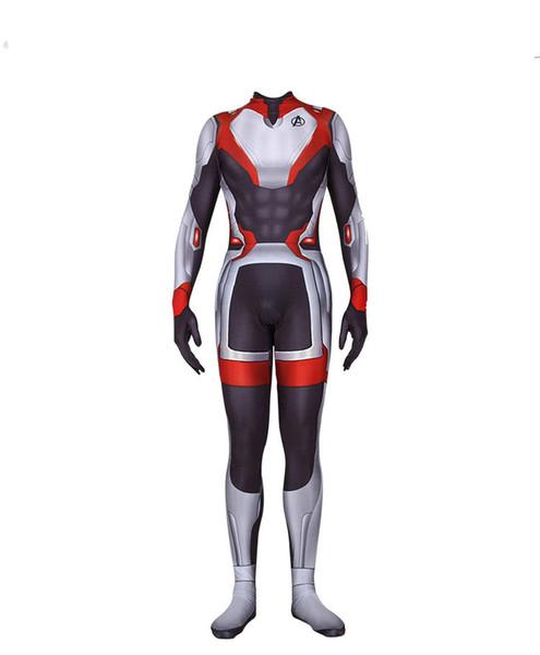 Avengers 4 Slim Onesies Marvel Movie che circonda lo stesso vestito Complesso 4 Quantum Warfare Onesies Commemorative Edition Siamese Suit