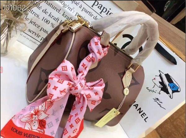 2019 styles Handbag Famous Design Brand Name Fashion Leather Handbags Women Tote Shoulder Bags Lady Leather Handbags Bags purse B020