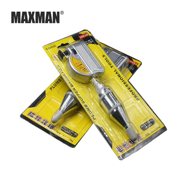 MAXMMAXMAN 3m Automatic Plumb Bob Magnetic Hanging Wire Hammer Verticality Measurement Hand DIY Tools Magnetism Plumb Bob