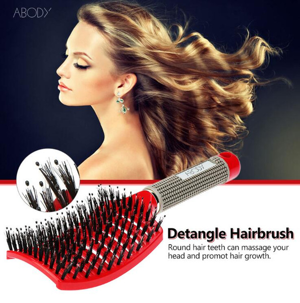 Hair Brush Scalp Hairbrush Comb Professional Women tangle Hairdressing Supplies brushes Tools hair combs for drop shipping