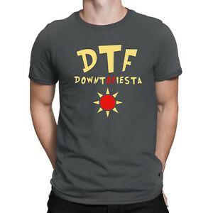 DTF Down To Fiesta Funny Brooklyn Nine Nine Comedy TV Show Men T-Shirt
