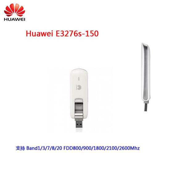 top popular Original Unlocked Huawei E3276 E3276s-150 150Mbps 4G LTE USB Modem 3G WCDMA USB Dongle Mobile Broadband Data Card PK E8278 E3372 2021