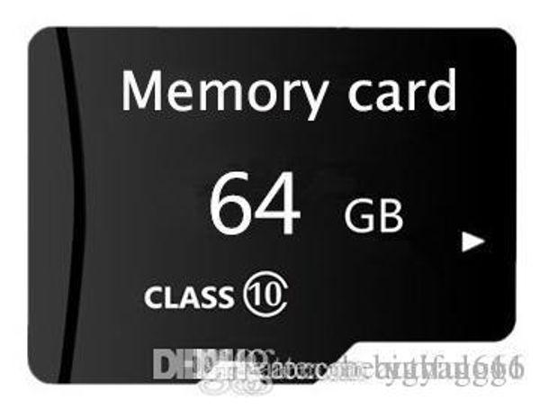 8GB 16GB 32GB 64GB 128GB High Speed MicroSD SD/TF Card Class10 Flash Memory + SD Card Reader + Adapter Reader