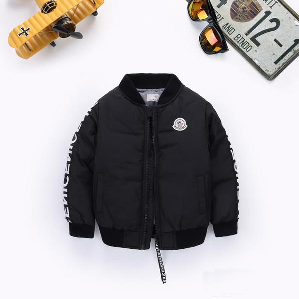 Sıcak Satış çocuk Aşağı Ceket Parkas Ceketler Kış Ceket Erkek Erkek Moda Çocuk Boy 2019 Çocuklar Için Kalın Mont Rüzgarlık ceketler