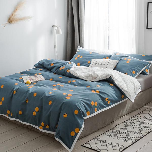 S1905009 Most Popular Bedding Set Soft Duvet Cover Bedclothes Quilt Pillowcase Home Decoration Queen King Size