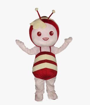 2019 costumi di mascotte di alta qualità professionali adorabili Haney Bee Character Mascot Costumes.