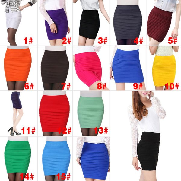 Womens Office New Skirt Casual Skirt Pencil female Skirts fashion Ol Skirt for womens Office Wear Xrq88