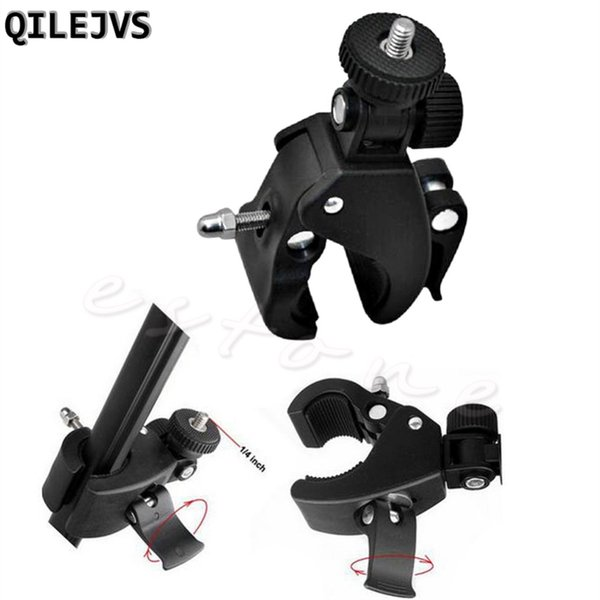 QILEJVS NEW 1Pc Bicycle Bike Handlebar Mount 1/4 Screw Clamp Bracket Tripod For Camera DV #662656