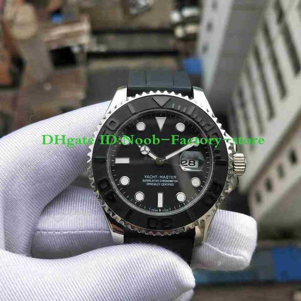 New 2019 Basel World Luxury New YM 42MM Nautical Style Automatic Movement Rubber Strap Dive Basel 226659 Mens Watch Watches Original Box