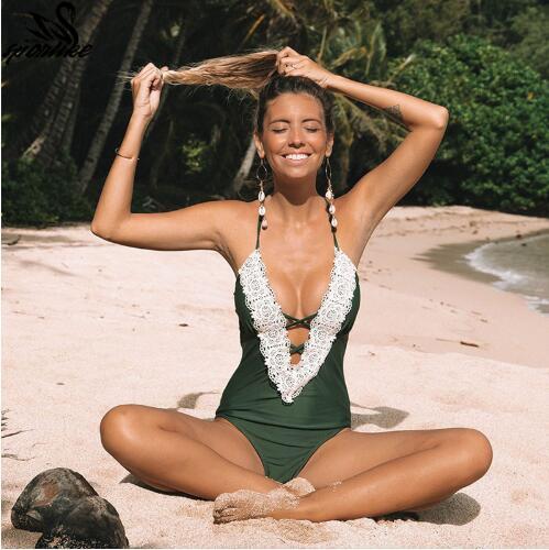 2019 цельный купальник сексуальные женские купальники женщины купальный костюм плавать старинные летние пляжная одежда принт повязка купальник монокини