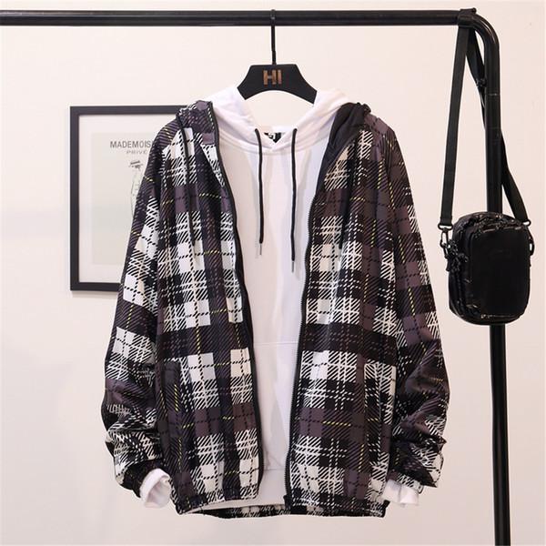 Moda dos homens Impresso Longo-manga Com Capuz Casaco Camisola Esportes Casaco Top Blusa 2019 Streetwear Roupas Casacos Táticos E