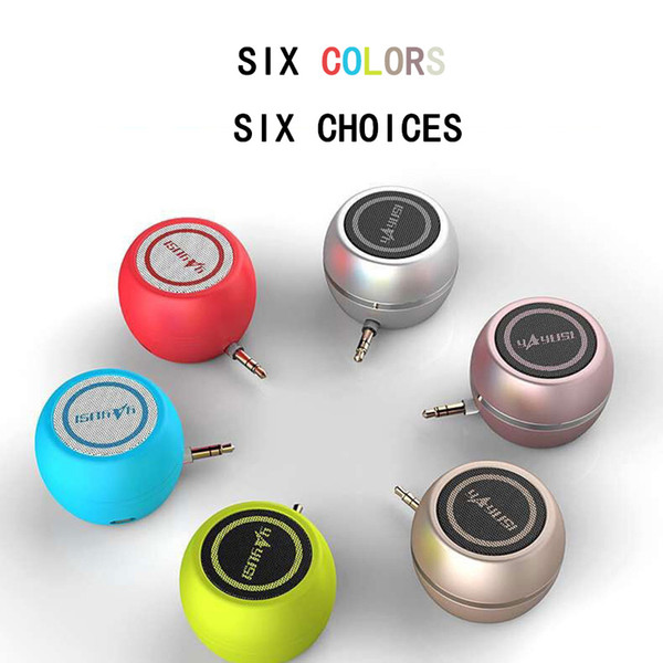 Speaker A5 mobile phone direct plug audio mini small speaker wireless external microphone wholesale