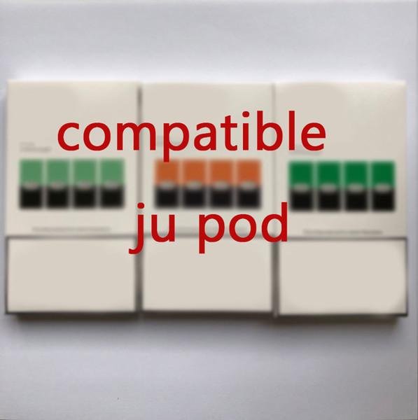 Nuevo paquete compatible ju la vaina para el dispositivo de E Cigarett vainas de cartuchos desechables lógica caída suorin Infinix Fit Kit