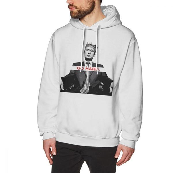 new style f6442 7617a Großhandel Putin Hoodie Hard Like Vladmir Putin Hoodies Warmer Grauer  Pullover Hoodie Lange Länge Übergröße Baumwolle Männer Lose Populäre  Hoodies Von ...