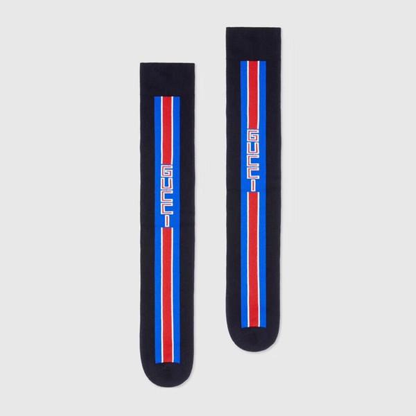 Newest GC stockings striped men women unisex tie socks GG letter jacquard ladies stockings tide men socks size free