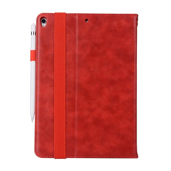 Half Genuine Leather Tablet Cases For iPad PRO 10.5 ipad AIR Cover Case Shockproof Stand Dormancy PU Leather Case