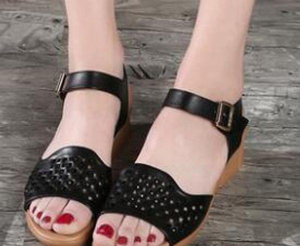 Sıcak Satış-Moda Gelin Düğün Ayakkabı Yaz Tarzı Bayanlar Parti Ayakkabı Toka Askı Perçinler Custom Made Gerçek Görüntü Sandalet ayakkabı Sıcak Satış