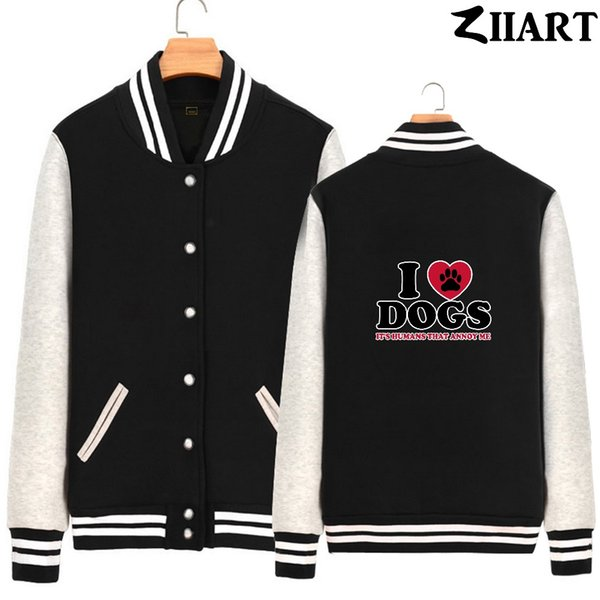 custom made logo pictures letters text etc. couple clothes girls woman full zip autumn winter fleece baseball jackets ziiart