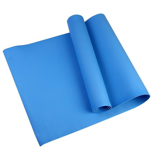 4MM TPE Non-slip Yoga Mats For Fitness Tasteless Pilates Mat Gym Exercise Sport Mats Pads with Yoga Bag Strap 4 colors
