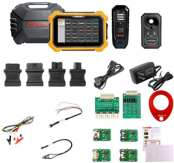 OBDSTAR X300 DP PLUS PAD2 A/B/C Configuration Immobilizer+Special function+Mileage Correction Supports ECU Programming & Toyota Smart Key